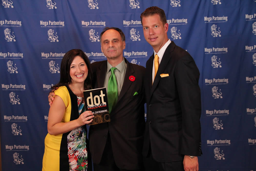 Erwin with Randi Zuckerberg & JT Foxx